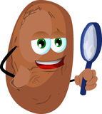 Detective potato Stock Photos