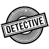 Detective rubber stamp Stock Photo