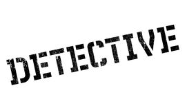 Detective rubber stamp Royalty Free Stock Images