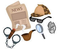 Detective Stuff Stock Images