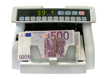 The detector of banknotes Stock Photography