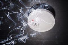 Detector de fumo Fotografia de Stock Royalty Free