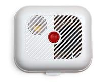 Detector de humos (con el camino de recortes) Imagenes de archivo
