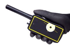Detector de metais de Pinpointer imagens de stock