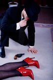 Detektiv 3 lizenzfreie stockfotografie