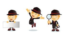 Detektiv 1 lizenzfreie abbildung