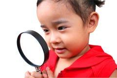 detektiv- barn Royaltyfri Foto
