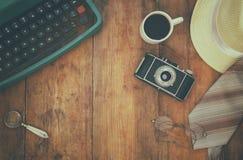 Detektiv- begrepp Hjälpmedel för privat kriminalare Fotografering för Bildbyråer