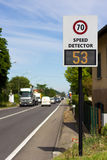 detektor prędkość Zdjęcia Stock