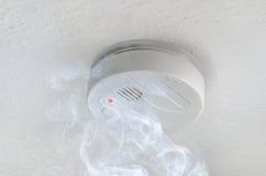 detektoru dym Obrazy Royalty Free