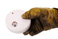 detektoru strażaka dym fotografia royalty free
