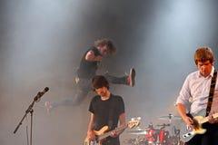 detektywów festiwalu muzyki gołąb Zdjęcia Royalty Free