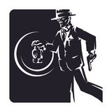 detektywi ilustracja wektor