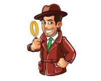 detektywi royalty ilustracja