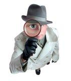 detektywie 3 Obrazy Royalty Free