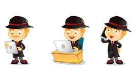 detektywie 3 Zdjęcia Stock