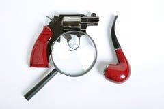 detektywistyczni narzędzia Obrazy Stock