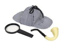 detektywistyczni retro narzędzia Obrazy Royalty Free