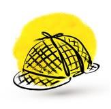 Detektywistyczny kapelusz Zdjęcia Stock