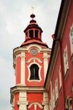 detenice чеха замока Стоковое Фото