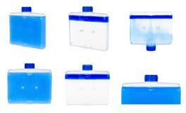 Detergens voor schone afwasmachinemachine, reeks en inzameling royalty-vrije stock foto