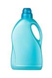 Detergent blauw van de container Stock Foto