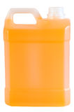 Detergent bottle. Royalty Free Stock Image