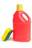 Detergent bottle. royalty free stock photos