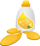 Detergent bottle Royalty Free Stock Photos