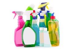 Detergent bottles Royalty Free Stock Photos