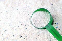 Detergent dla pralnianej płuczki Obrazy Royalty Free