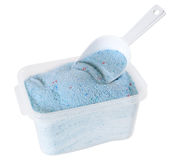 Detergent powder. Isolated Stock Images
