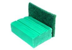 Detergent prętowy & naczynie wiper Obraz Royalty Free