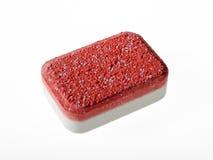 Detergent tablet van de afwasmachine Royalty-vrije Stock Foto