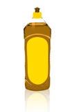 Detergente anaranjado stock de ilustración
