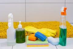 detergentes Fotos de archivo