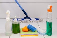 detergentes Foto de archivo libre de regalías