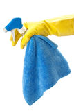 Detergents for cleaning the house Stock Images