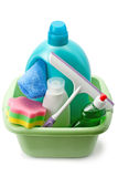 Detergents and cleaning products Stock Photos