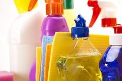 Detergents closeup Stock Photography