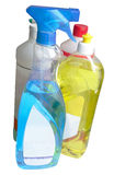 Detergents. Different detergents, used at home or professionally Royalty Free Stock Photography