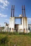 Deterioração dos edifícios industriais Fotografia de Stock Royalty Free