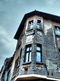 Deteriorated building facade Royalty Free Stock Images
