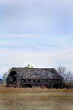 A Deteriorating Barn Stock Photography