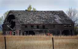 Deteriorating Barn Royalty Free Stock Image