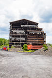 Deteriorating Coal Breaker Royalty Free Stock Photography