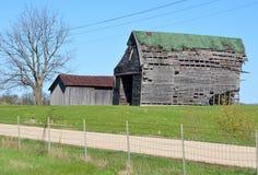 Deteriorating Old Barn Stock Image