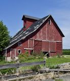 Deteriorating Old Barn Royalty Free Stock Images