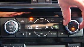 Determinación de la temperatura en el coche almacen de video