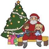 Determinación de Papá Noel libre illustration
